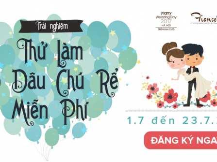 """Kết quả cuộc thi """"Thử làm Cô dâu – Chú rể"""" tại Marry Wedding Day Hà Nội 2017 – Tình Nồng"""