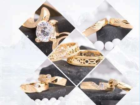 Khám phá hơn 900 mẫu nhẫn cưới đẹp mang phong vị bốn mùa