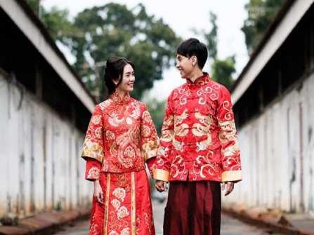 Chuẩn bị cho đám cưới phong cách Trung Hoa