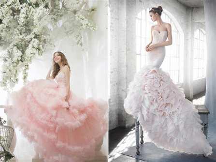 """Ngất ngây với những mẫu váy màu hồng pastel """"ngọt lịm"""""""