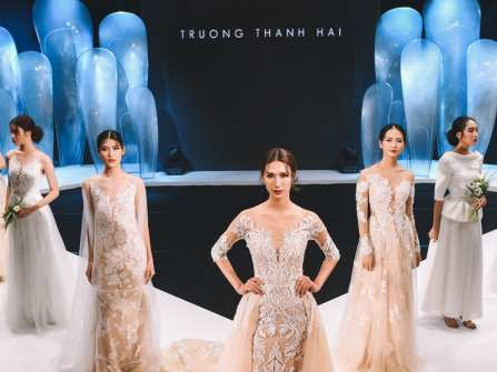 Nét tối giản tinh tế trong BST Bridal 2018 của Trương Thanh Hải