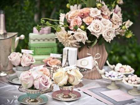 Tự tay trang trí tiệc cưới tại nhà - Tại sao không?
