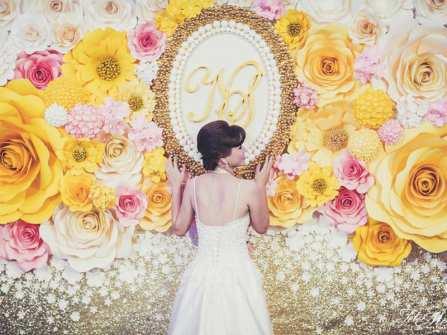 Xu hướng trang trí sân khấu đám cưới mới nhất 2017