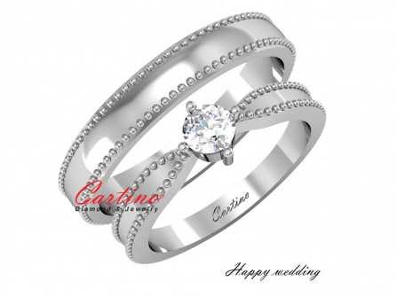 Nhẫn cưới Platinum: Xu hướng mới cho các cặp đôi