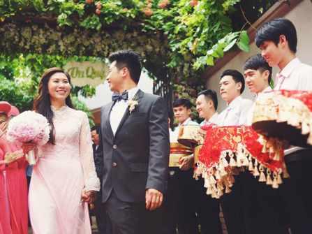 Quy trình trao mâm quả đám cưới chính xác trong lễ ăn hỏi