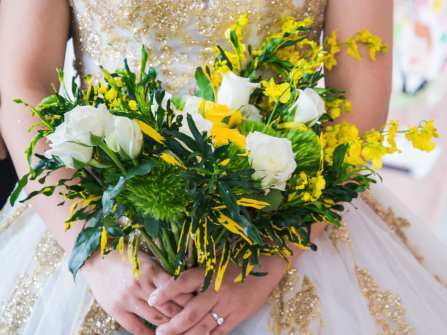 Hoa cưới cầm tay 2017