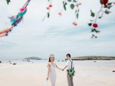 Hàng loạt ưu đãi hấp dẫn khi đặt chụp hình cưới ngoại cảnh
