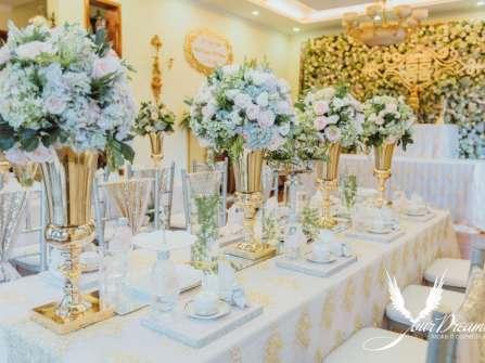 Trang trí tiệc cưới Gia Tiên