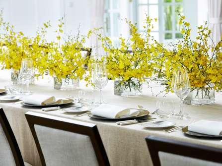 Tiệc trưa gia đình đáng nhớ trong ngày cưới tại Park Hyatt Saigon