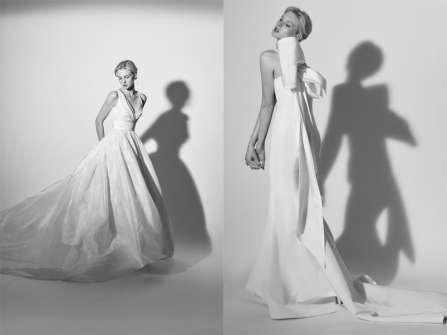 Carolina Herrera Xuân 2018: Cô dâu lãng mạn và quý phái