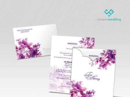 Saigon Wedding - Thiệp cưới thiết kế cao cấp giảm 20%