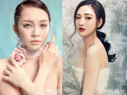 Trang điểm cô dâu tự nhiên tại Hạnh Lâm Makeup & Academy