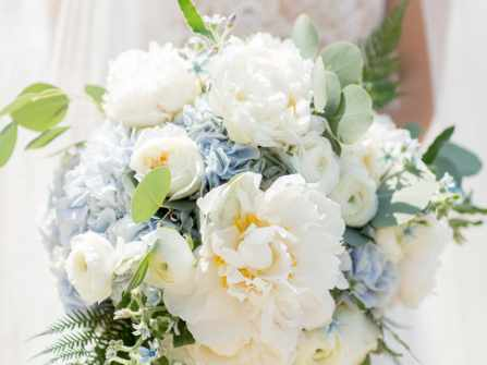 Hoa cưới cẩm tú cầu: Lời tự sự chân thành của cô dâu mới