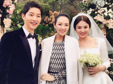 Những khoảnh khắc đẹp nhất trong đám cưới Song Joong Ki và Song Hye Kyo