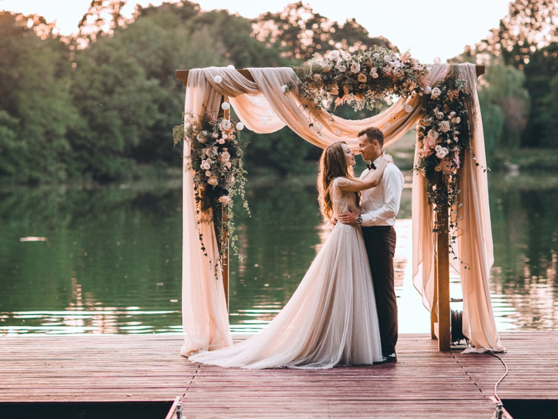 Cổng hoa đám cưới đẹp 2