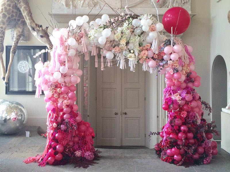 Cổng hoa đám cưới đẹp 3