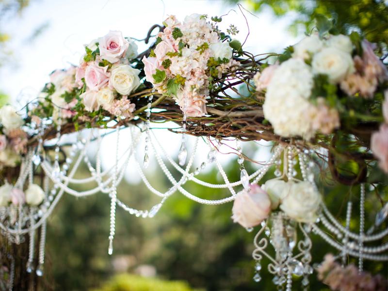 Cổng hoa đám cưới đẹp 4