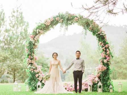 Những cổng hoa đám cưới đẹp nhìn là muốn cưới ngay