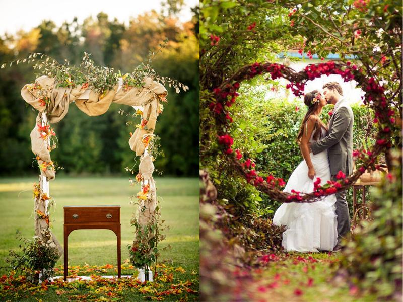 Cổng hoa đám cưới đẹp 5