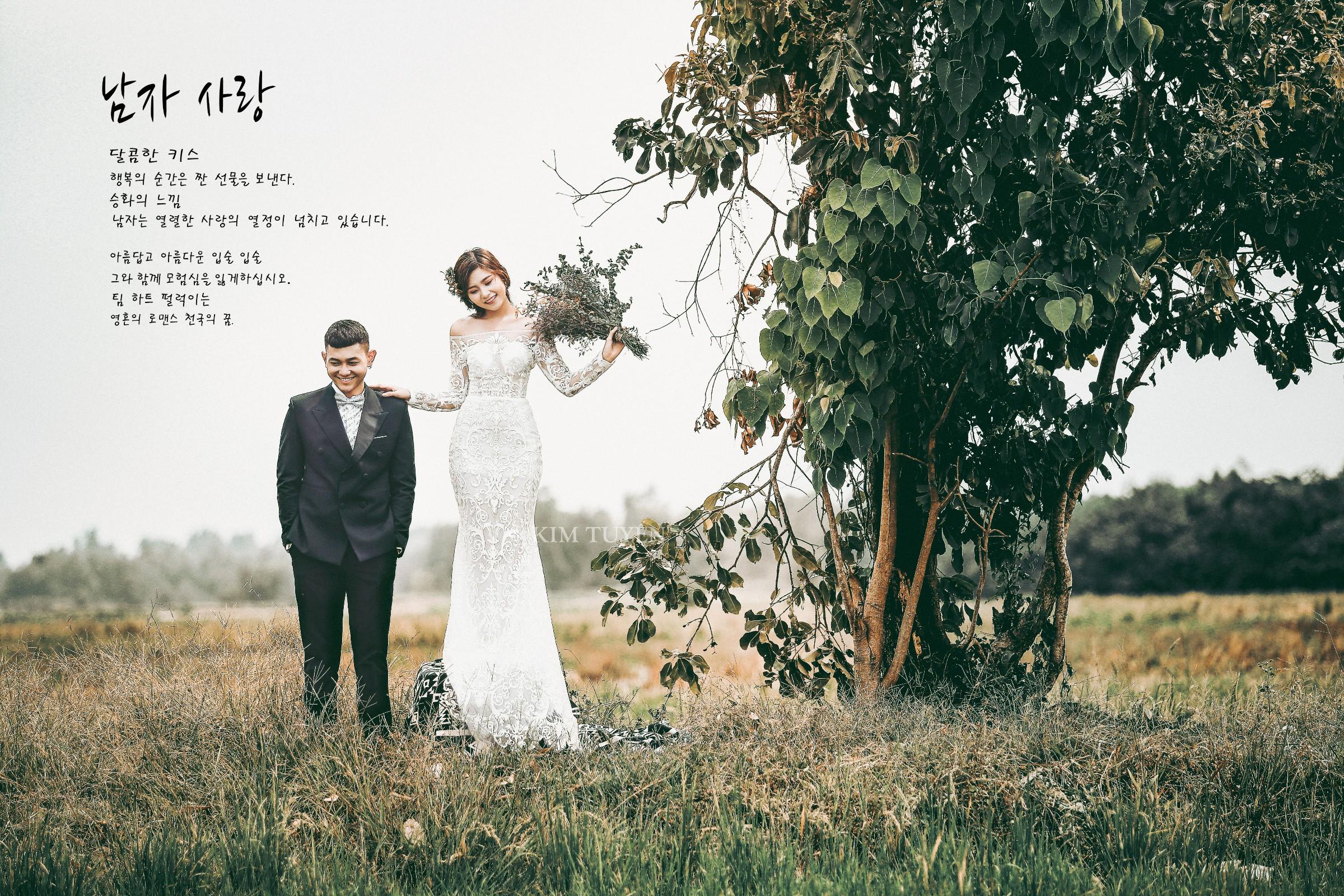 Trọn gói Album ảnh cưới Củ Chi - Green Field 2018 -