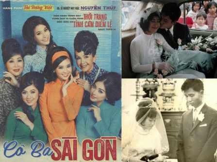 Áo Dài cưới Sài Gòn xưa - Chút hồi tưởng từ