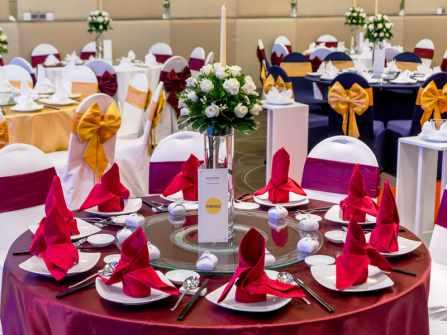 Tổ chức tiệc cưới trọn gói tại khách sạn Novotel Saigon Centre