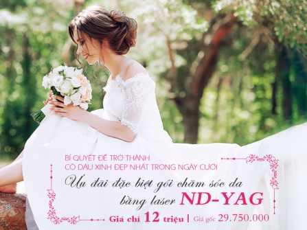 Giúp bạn tỏa sáng lộng lẫy trong ngày cưới với làn da sáng mịn