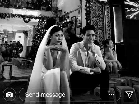 Ảnh cưới Chúng Huyền Thanh bị rò rỉ làm fan Việt thích thú