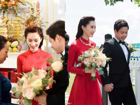 Điểm lại những đám cưới đình đám nhất showbiz Việt năm 2017