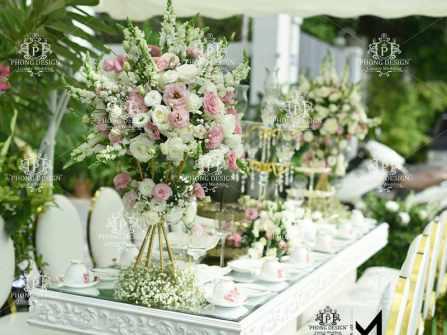 Gợi ý 5 wedding planner ở Hà Nội đi đầu xu hướng trang trí tiệc cưới