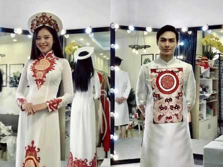 Ngày cưới và áo dài cưới Chúng Huyền Thanh cuối cùng đã được tiết lộ