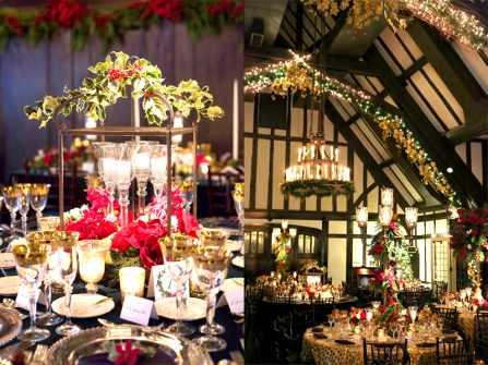 """Trang trí đám cưới mùa Giáng sinh và tiệc cuối năm """"chất nhất quả đất"""""""