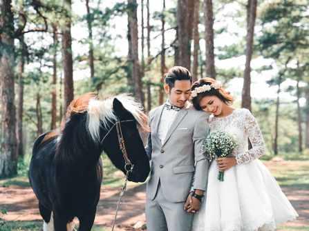 7 địa điểm chụp hình cưới ở Đà Lạt đẹp say lòng người
