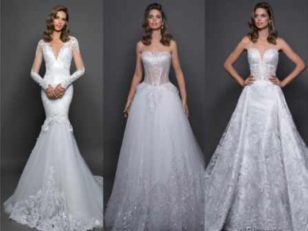 Xu hướng váy cưới 2018 đậm chất cổ điển và cảm hứng thiên nhiên