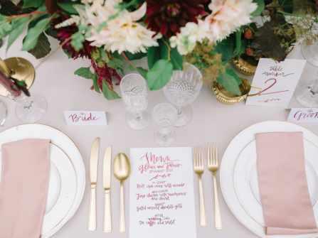 5 xu hướng thiết kế menu tiệc cưới được yêu thích nhất năm 2018