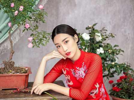 Hoa hậu Đỗ Mỹ Linh gợi ý mẫu áo dài cách tân nào cho Tết Mậu Tuất?