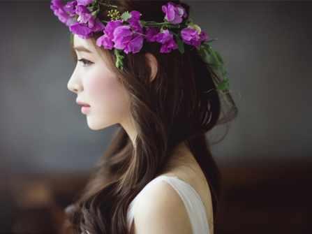 4 kiểu tóc cô dâu dễ thương cho mùa cưới Xuân - Hè 2018