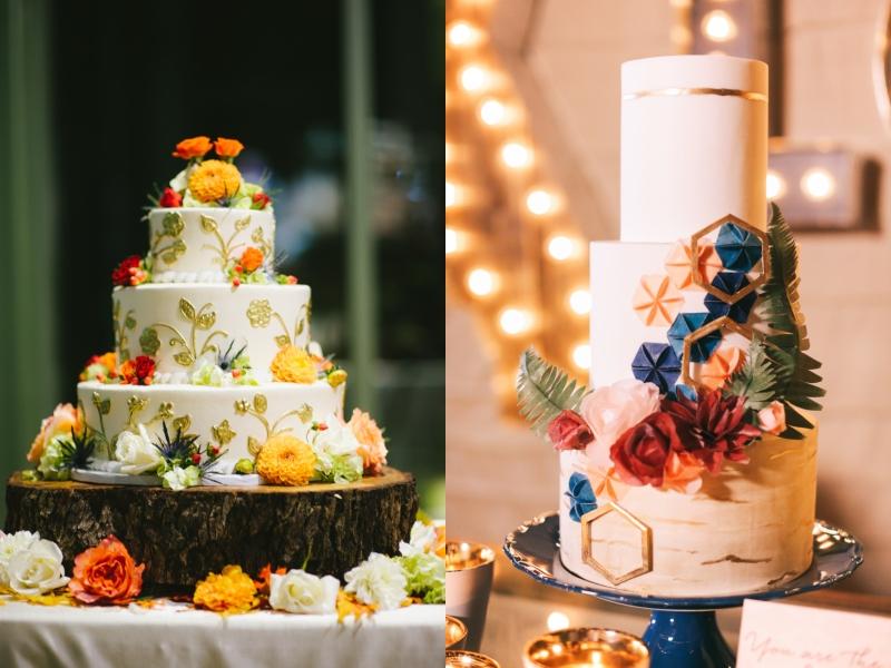bánh cưới 3 tầng 1