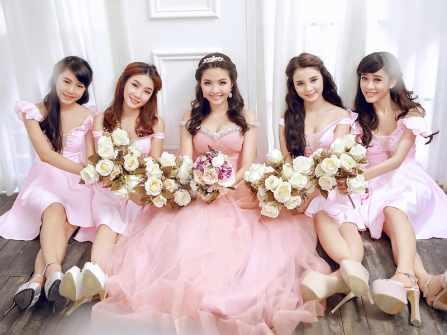 Ngược thời gian tìm hiểu 4 kiểu váy vintage cho phù dâu từ cổ chí kim