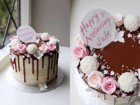 12 mẫu bánh kem độc đáo, ý nghĩa dịp kỷ niệm ngày cưới