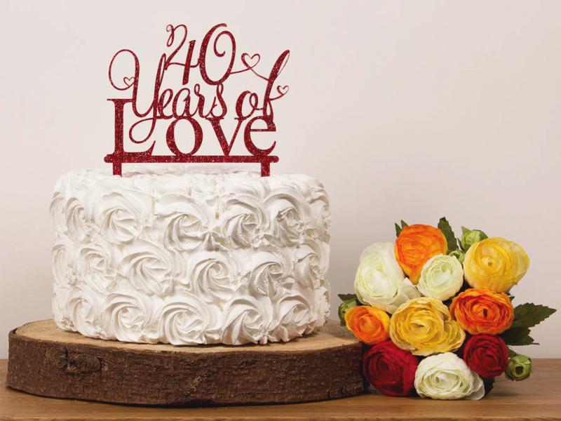 bánh kỷ niệm ngày cưới 4