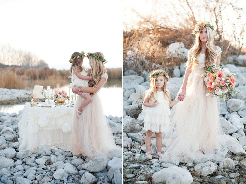Váy phù dâu cho bé gái 1