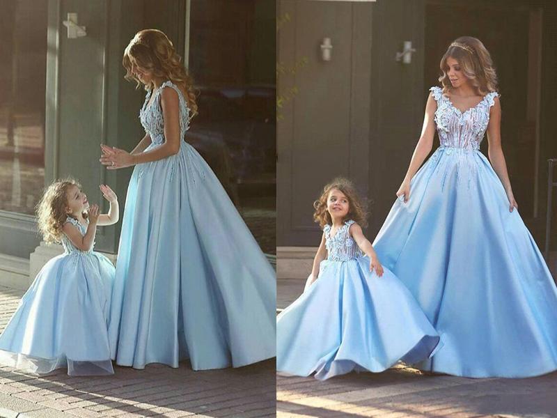Váy phù dâu cho bé gái 2