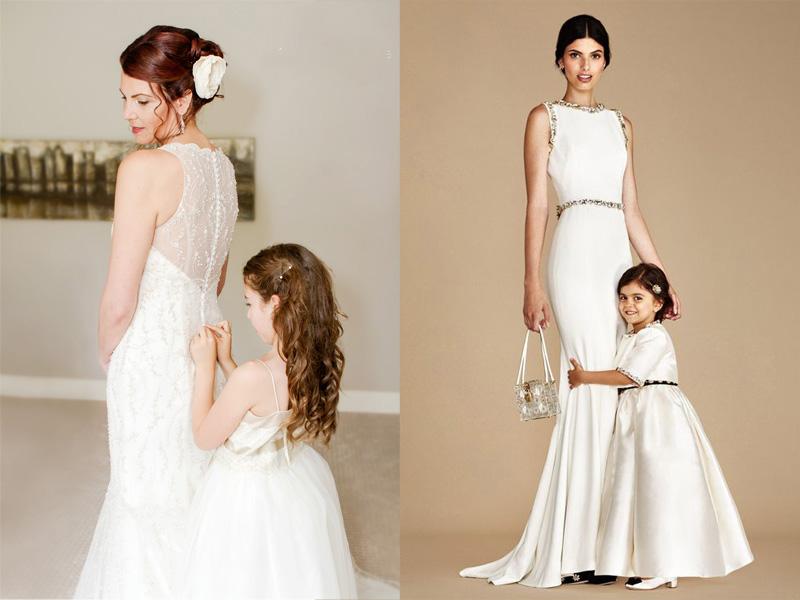 Váy phù dâu cho bé gái 3