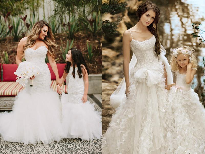 Váy phù dâu cho bé gái 4