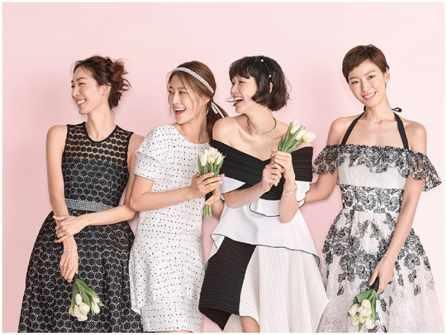 6 xu hướng váy phù dâu đẹp nhất cho đám cưới mùa Hè