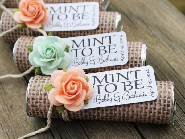 Quà cưới kẹo bạc hà 1