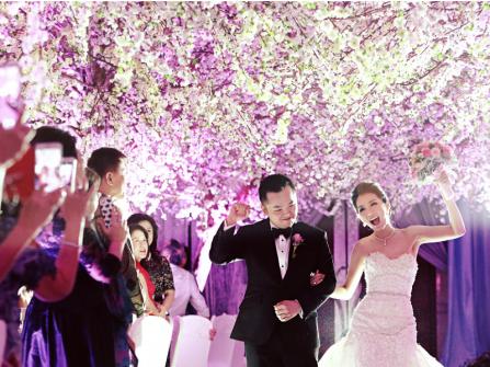Hạnh phúc đám cưới trọn vẹn khi suy nghĩ giản đơn