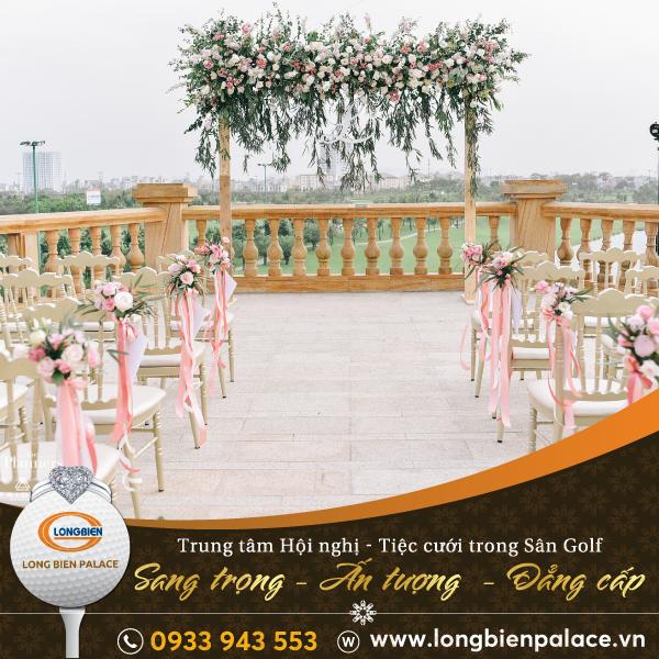 Trung tâm Hội nghị - Tiệc cưới Long Biên Palace - Sân Golf Long Biên - Hà Nội
