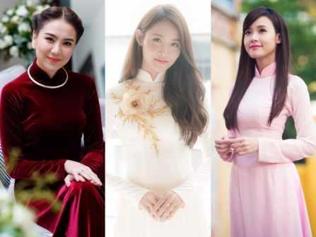 5 kiểu tóc thu hút vạn ánh nhìn cho cô dâu mặc áo dài